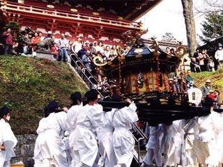 鹽竈神社 帆手祭