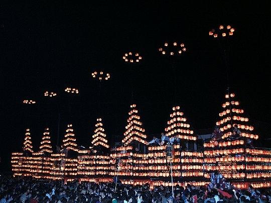 二本松の提灯祭り(二本松神社例大祭)