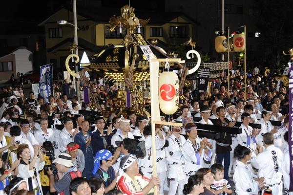 寒河江まつり『神輿の祭典』