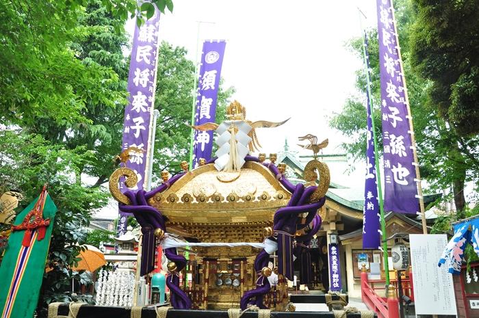四谷須賀神社例大祭