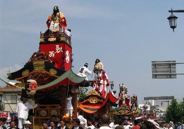 久喜提燈祭り「天王様」